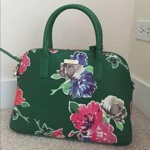 Kate Spade Small Rachelle Green Bloom